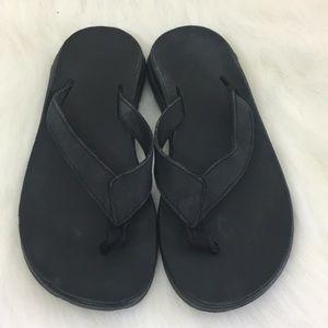 Chaco Leather Flip Flop Sandal, 6